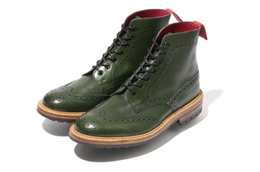 A Bathing Ape x Tricker's 2012 Fall/Winter Collection