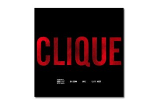 Big Sean, Jay-Z & Kanye West - Clique | Artwork