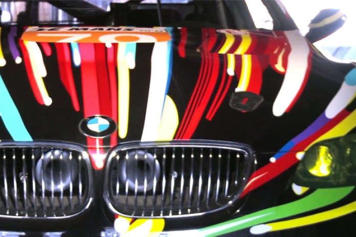 A Tour of BMW's Art Car Collection