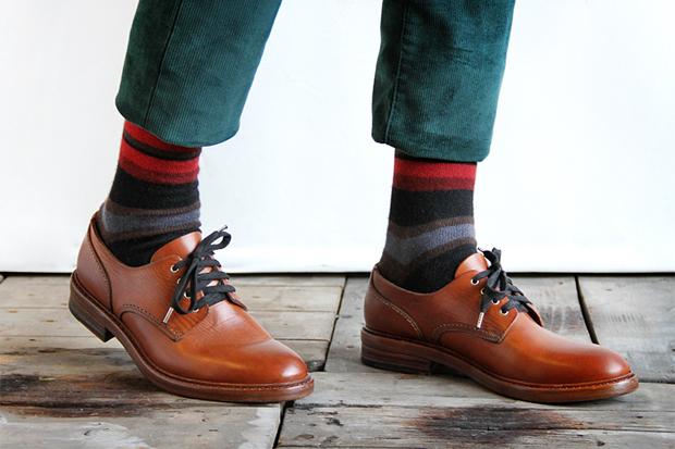 Buttero 2012 Fall/Winter Round Toe Derby Shoe