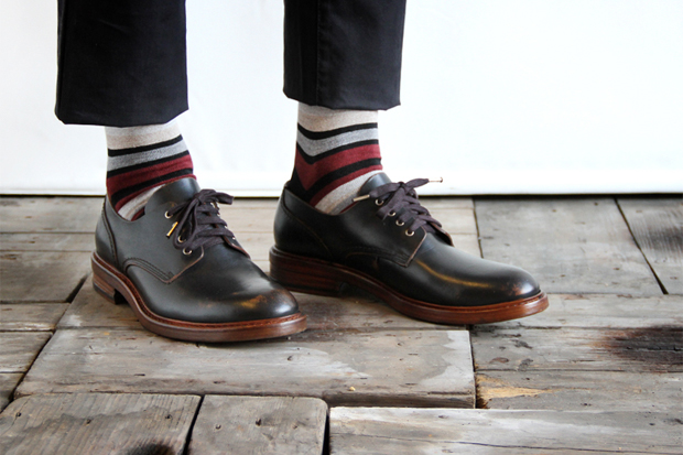 Buttero 2012 Fall/Winter Round Toe Derby Shoe