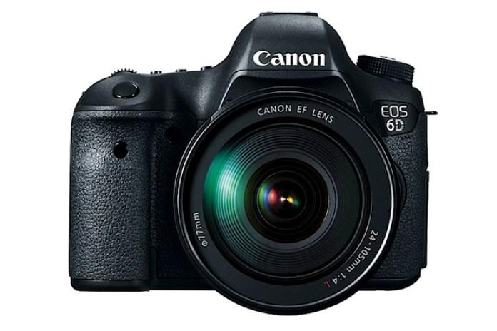 Canon Unveils New EOS 6D DSLR