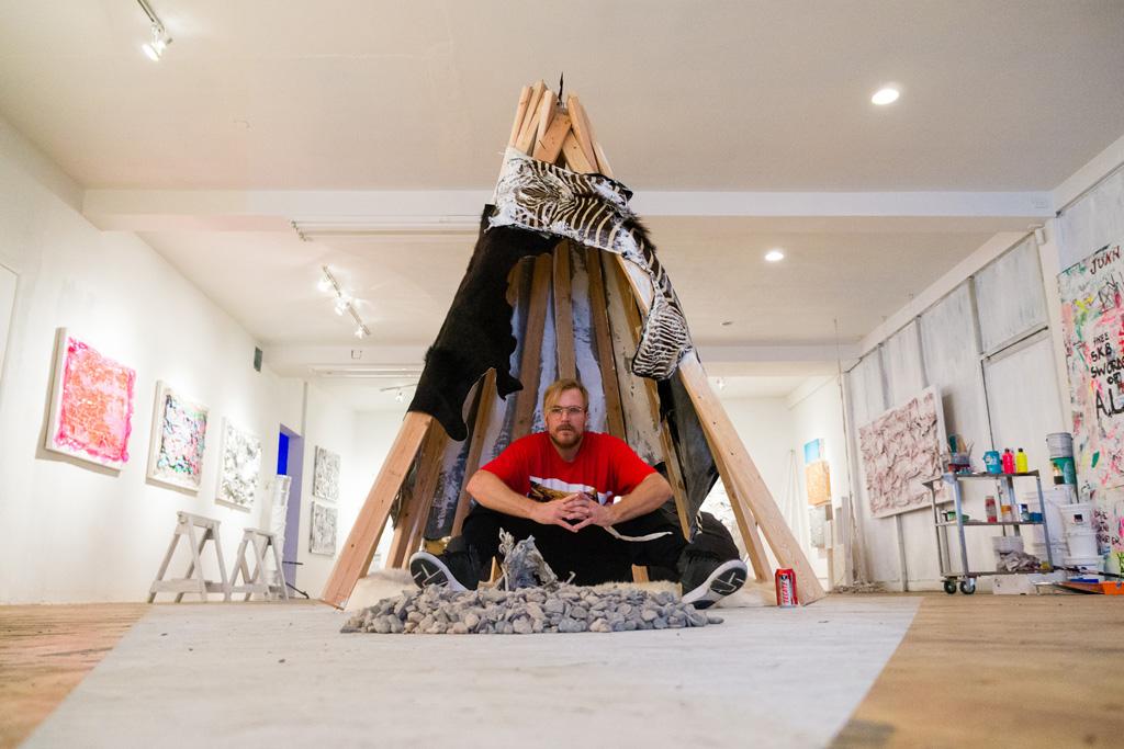 """Chad Muska """"Deconstructionism"""" Exhibition @ Flat 425 Recap"""