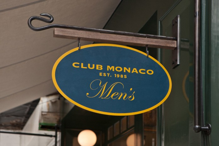 Club Monaco Men's Store Opening Recap