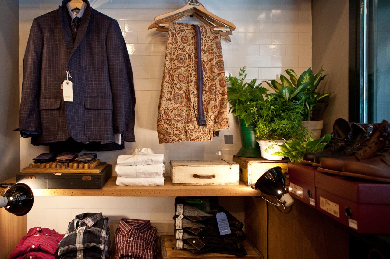 club monaco mens store opening recap
