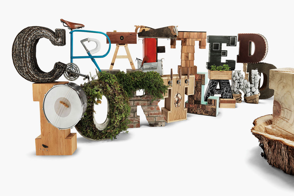 """Danner and the Oregon College of Art & Craft present """"Crafted in Portland"""" Installation"""