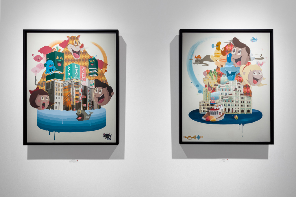 "Dabs Myla ""Marvelous Expeditions"" Exhibition @ Thinkspace Gallery"