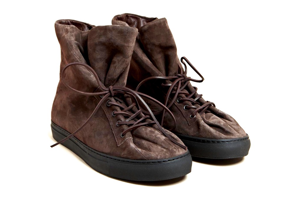 damir doma 2012 fall winter faso suede trainer
