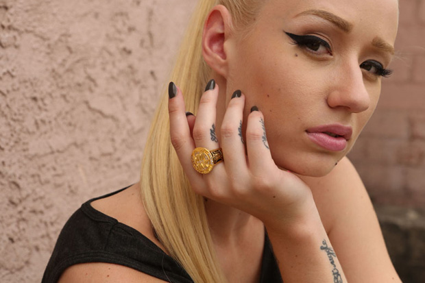 dim mak 2012 fall winter lookbook featuring iggy azalea