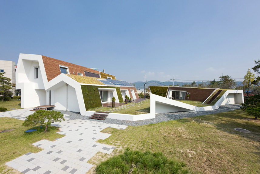 e green home by unsangdong architects