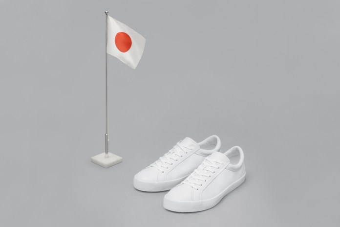 Erik Schedin's Iconic All-White Sneaker Arrives at Dover Street Market's Ginza, Tokyo Location