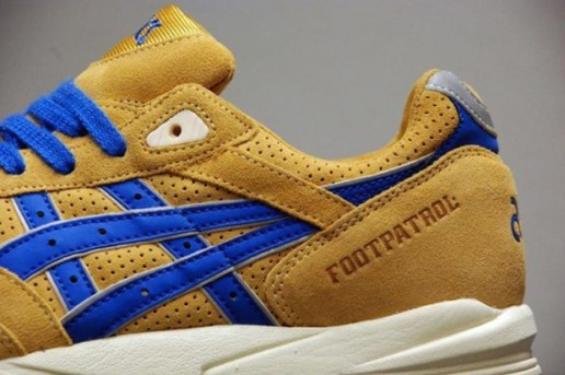 Foot Patrol x ASICS Gel Saga Preview