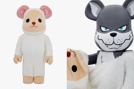 fragment design x Medicom Toy Worldwide Tour 2 Osaka Bearbrick 400% & 1000% - 2nd Model