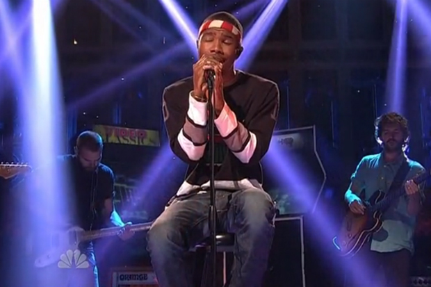 Frank Ocean featuring John Mayer - Saturday Night Live Performance