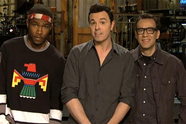 Frank Ocean on Saturday Night Live Promo Video