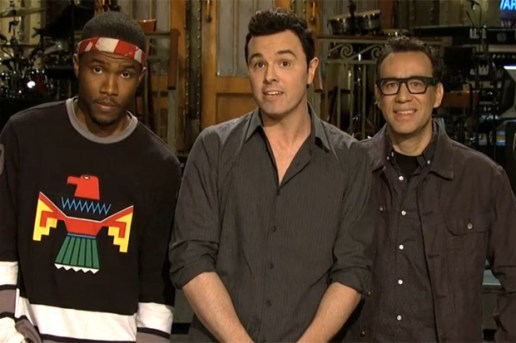 Frank Ocean on Saturday Night Live Promo Video