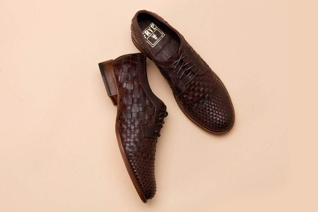 Frye Manny Woven Oxford