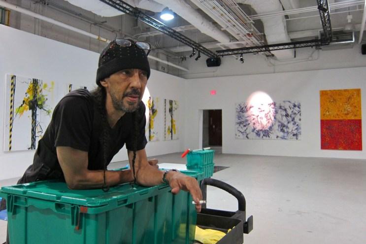 "Futura ""Future-Shock"" Exhibition @ Valmorbida NYC Preview"