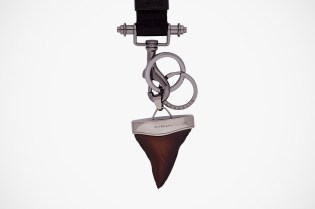Givenchy Wooden Shark Tooth Keychain