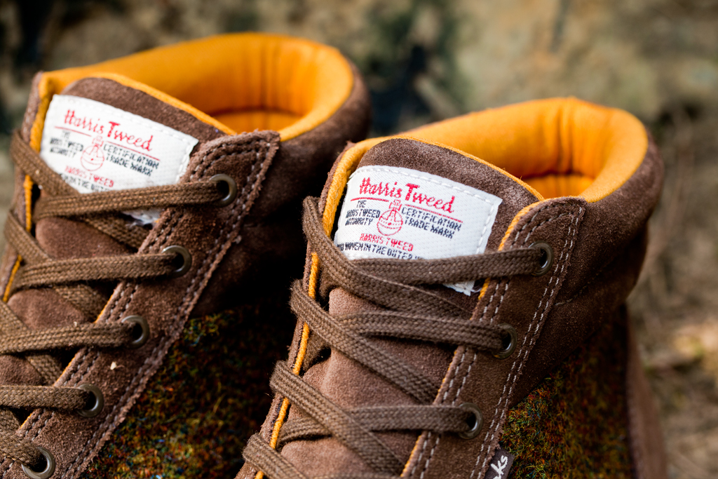 Harris Tweed x Clarks Fall/Winter 2012 Torbay Point Khaki Suede Sports Boots