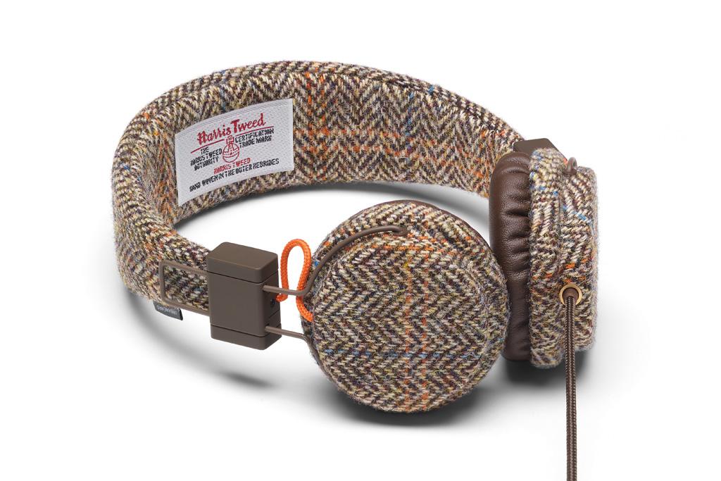 Harris Tweed x Urbanears Plattan Headphones