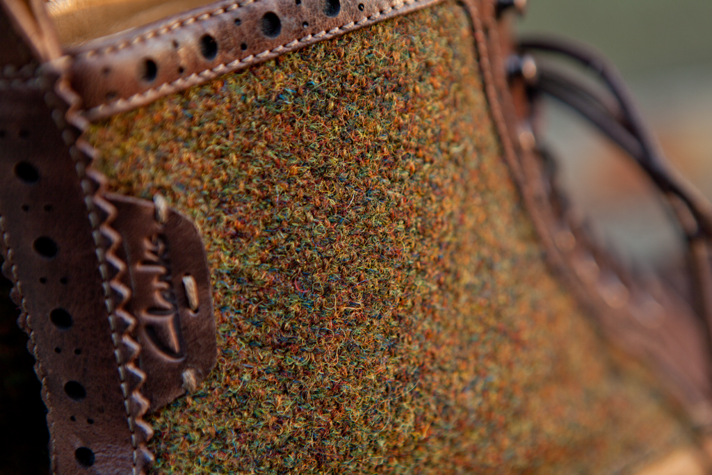 harris tweed x clarks 2012 fall winter montacute lord