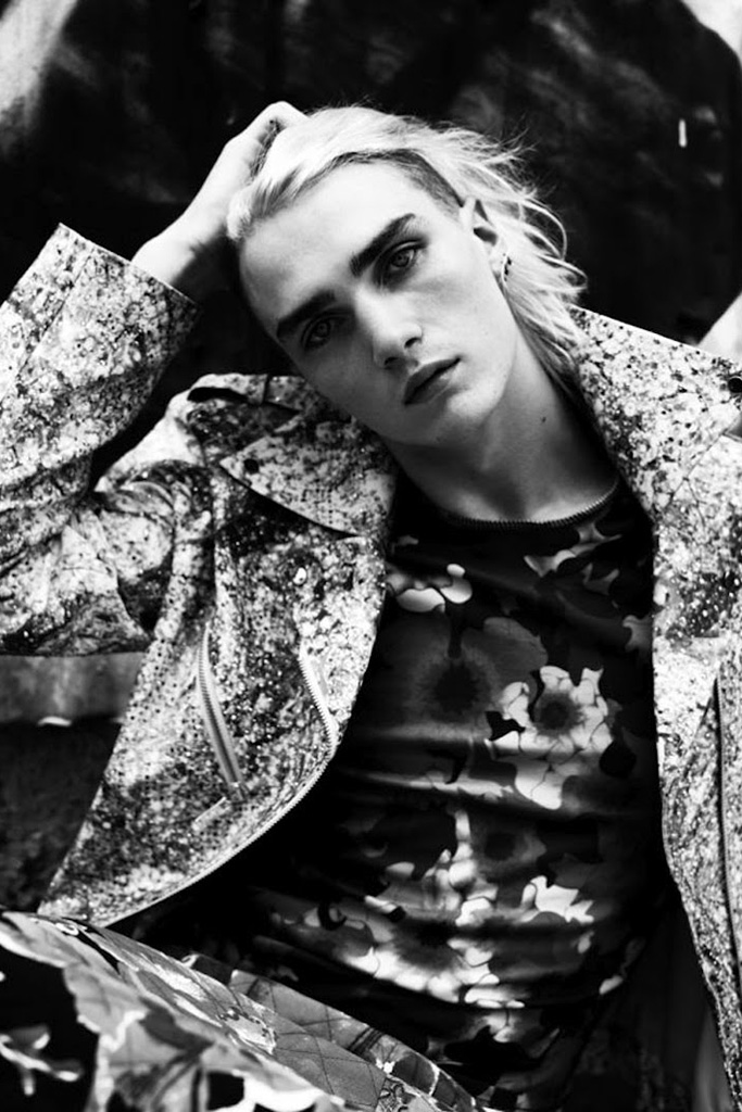 hedi slimane 2012 fall winter editorial for vogue hommes japan issue 9