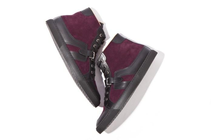 Hermes 2012 Fall Quantum High-Top Sneakers Prune/Noir