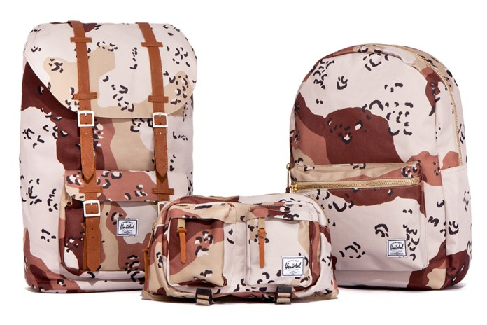 "Herschel Supply Co. 2012 Fall/Winter ""Desert Storm Camo"" Collection"