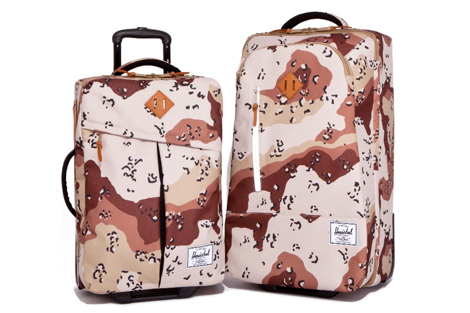 """Herschel Supply Co. 2012 Fall/Winter """"Desert Storm Camo"""" Collection"""