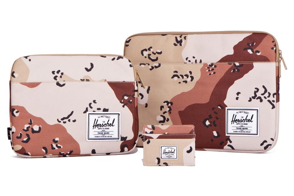 herschel supply co 2012 fall winter desert storm camo collection