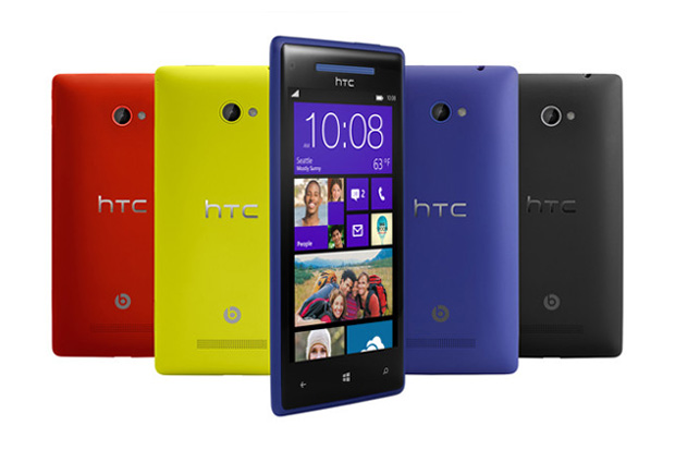 HTC Launches 8S and 8X Windows 8 Phones