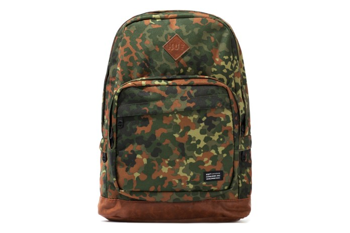 "HUF 2012 Fall/Winter ""German Camo Cordura"" Accessories Collection"