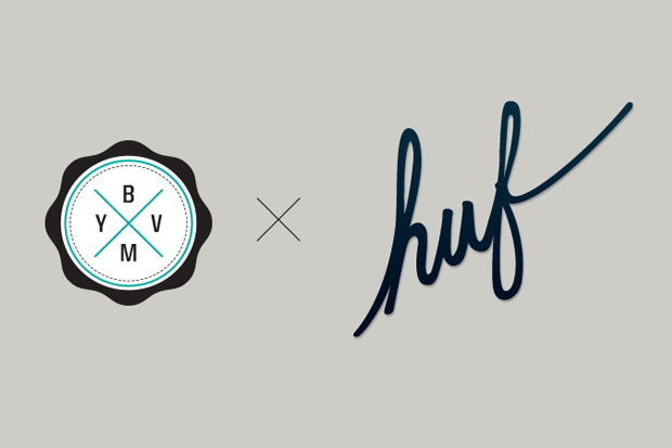 Win $1,500 as Huf Teams Up With BYVM to Crowdsource a New Logo and T-shirt Design