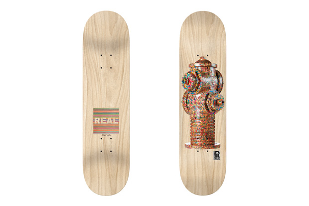 HUF x Haroshi x Real Hydrant Deck
