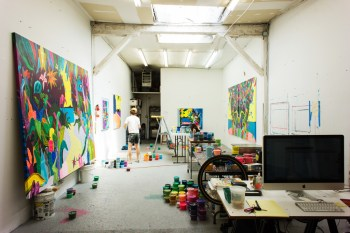 HYPEBEAST Spaces: Erik Parker's Studio