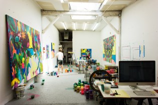 HYPEBEAST Spaces: Erik Parker's Studio