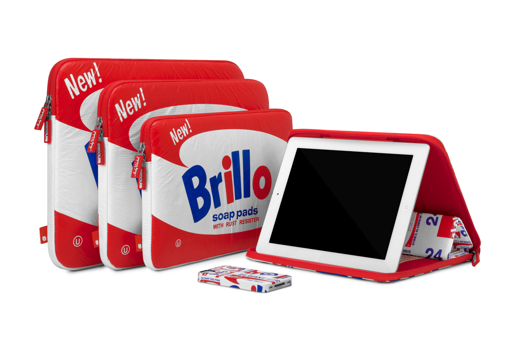 Incase 2012 Fall Andy Warhol Brillo Collection