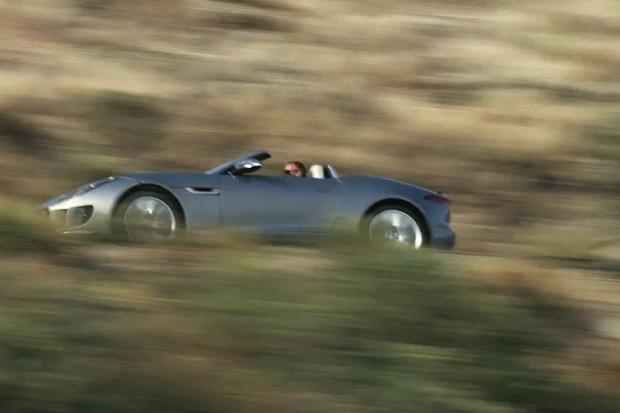Jaguar's New F-Type Makes Its Official Debut