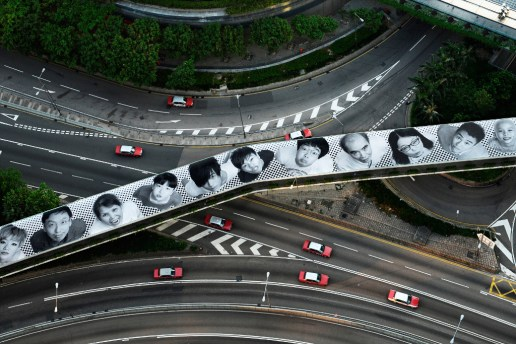 """JR Launches His """"INSIDE OUT"""" Project in Hong Kong"""