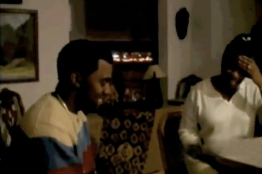 Kanye West & His Mom Donda West Rapping Back in 2003