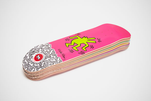 Keith Haring x Alien Workshop Skateboard Collection
