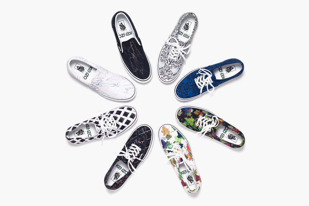 kenzo x vans 2012 fall winter footwear