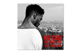 KiD CuDi featuring King Chip – Just What I Am (Artwork)