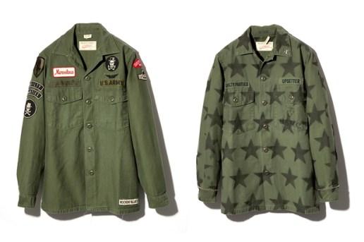 LABRAT x WACKO MARIA 2012 Military Jackets