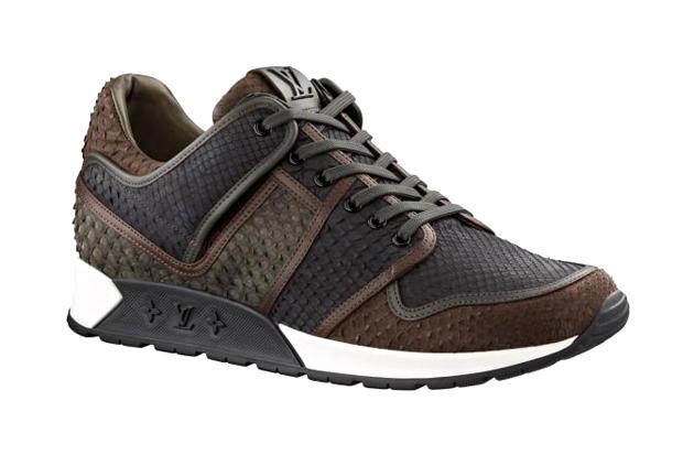 Louis Vuitton Python Skin Sneakers