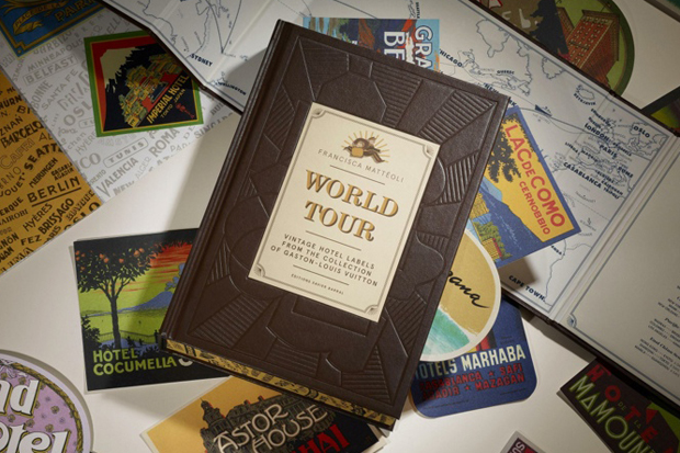 louis vuitton to publish world tour book of vintage hotel labels