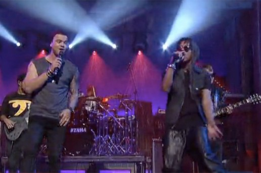 Lupe Fiasco & Guy Sebastian – Battle Scars (Live on Letterman)