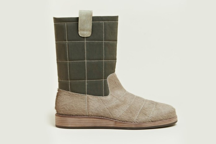 Maison Martin Margiela Quilted Fur Trunk Boot