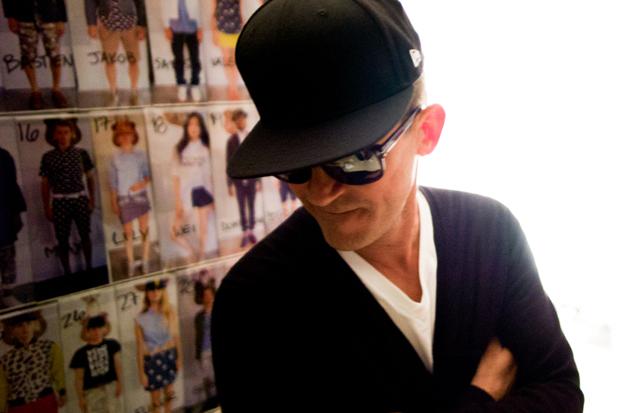 Mark McNairy 2013 Spring/Summer Backstage Visuals